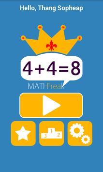 Math Freak poster