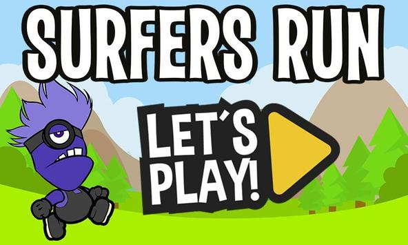 Surfers Run poster