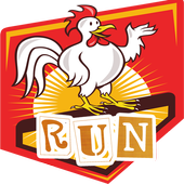 Rooster Run Fighting Game Free icon
