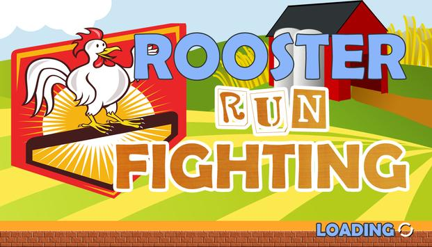 Rooster Run Fighting Game Free poster