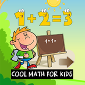 Math for kids games in English icon