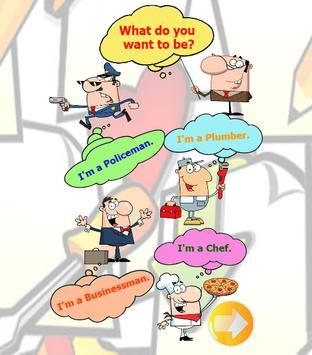 Occupation English vocabulary screenshot 6