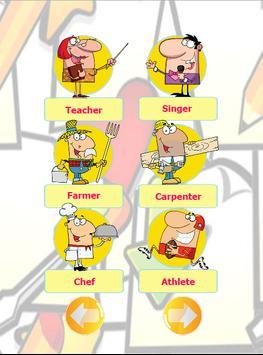 Occupation English vocabulary screenshot 8
