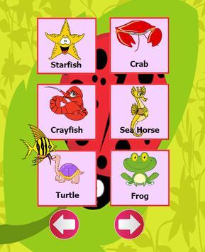 Sea animals english language screenshot 3