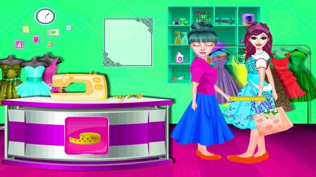 High School Doll Tailor Shop screenshot 4