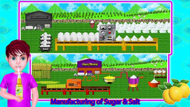 Lemon Factory Juice Maker Games screenshot 11