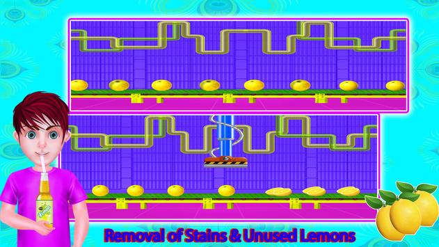 Lemon Factory Juice Maker Games screenshot 12