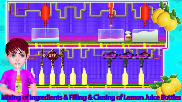 Lemon Factory Juice Maker Games screenshot 13