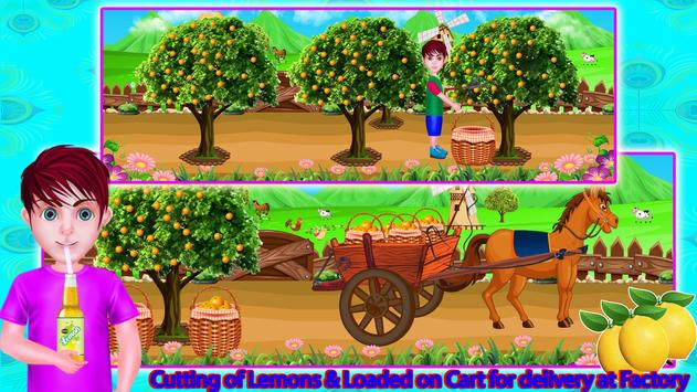 Lemon Factory Juice Maker Games screenshot 1