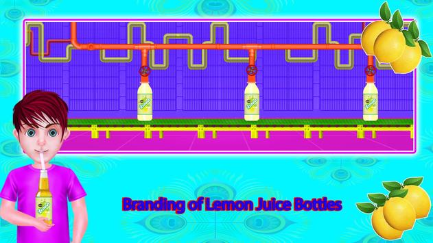 Lemon Factory Juice Maker Games screenshot 22