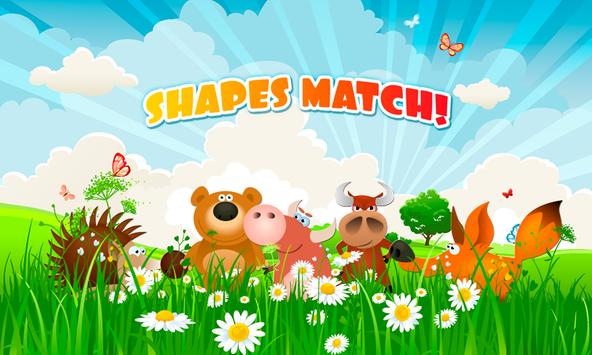 KIDS SHAPES MATCH for Toddlers poster