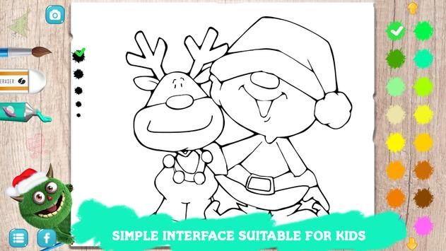 🎅Christmas Coloring For Kids - Libro De Santas for Android - APK ...
