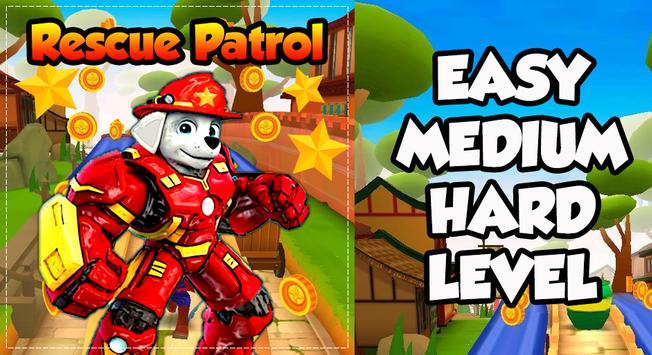 Paw Puppy Subway Rescue Patrol apk screenshot