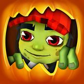 Surfers Vs Zombies : Halloween icon