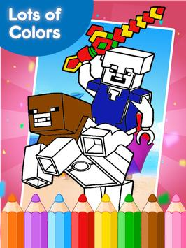 Coloring Books for minecraft screenshot 10
