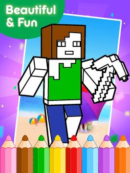 Coloring Books for minecraft screenshot 8