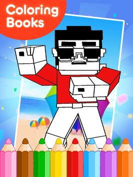 Coloring Books for minecraft screenshot 9