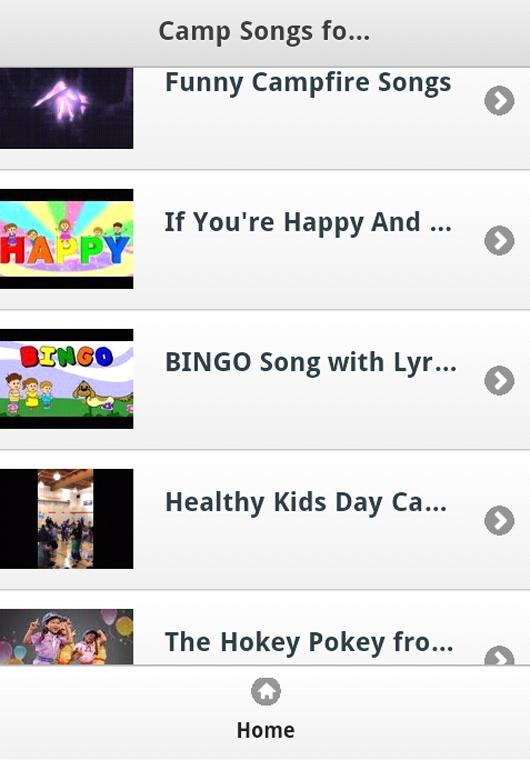 Camp Kids Songs for Android - APK Download