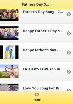 Fathers Day Songs for Kids apk screenshot