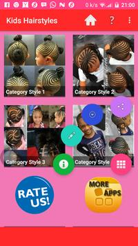 KIDS HAIRSTYLES 2019 poster