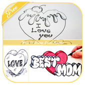 How to Draw Love Hearts icon