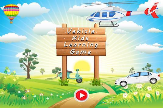 Vehicle Kids Car Learning screenshot 5