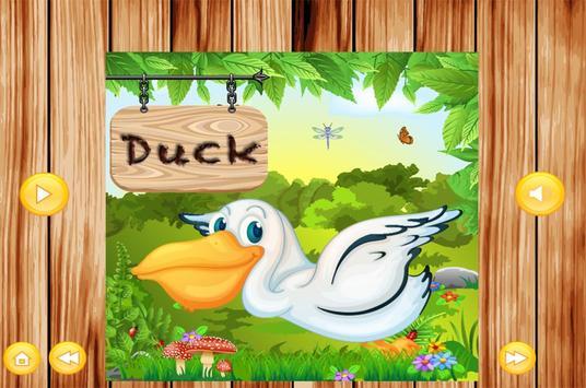 Learn To Speak Birds Names kidz screenshot 3