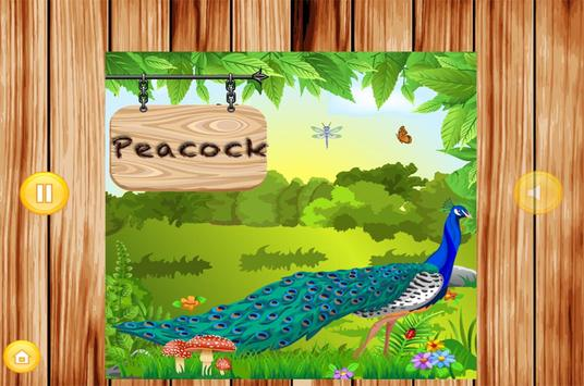 Learn To Speak Birds Names kidz screenshot 1
