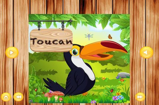 Learn To Speak Birds Names kidz screenshot 2