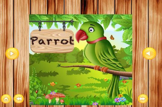 Learn To Speak Birds Names kidz screenshot 4