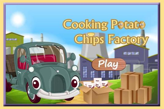 Cooking Potato Chips Factory poster