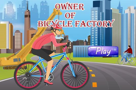 Owner of Bicycle Factory poster