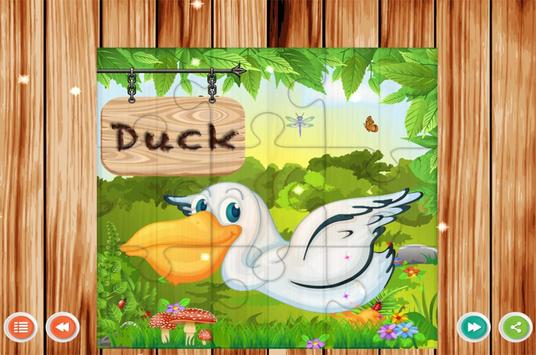 Pre School Games Birds Name screenshot 4