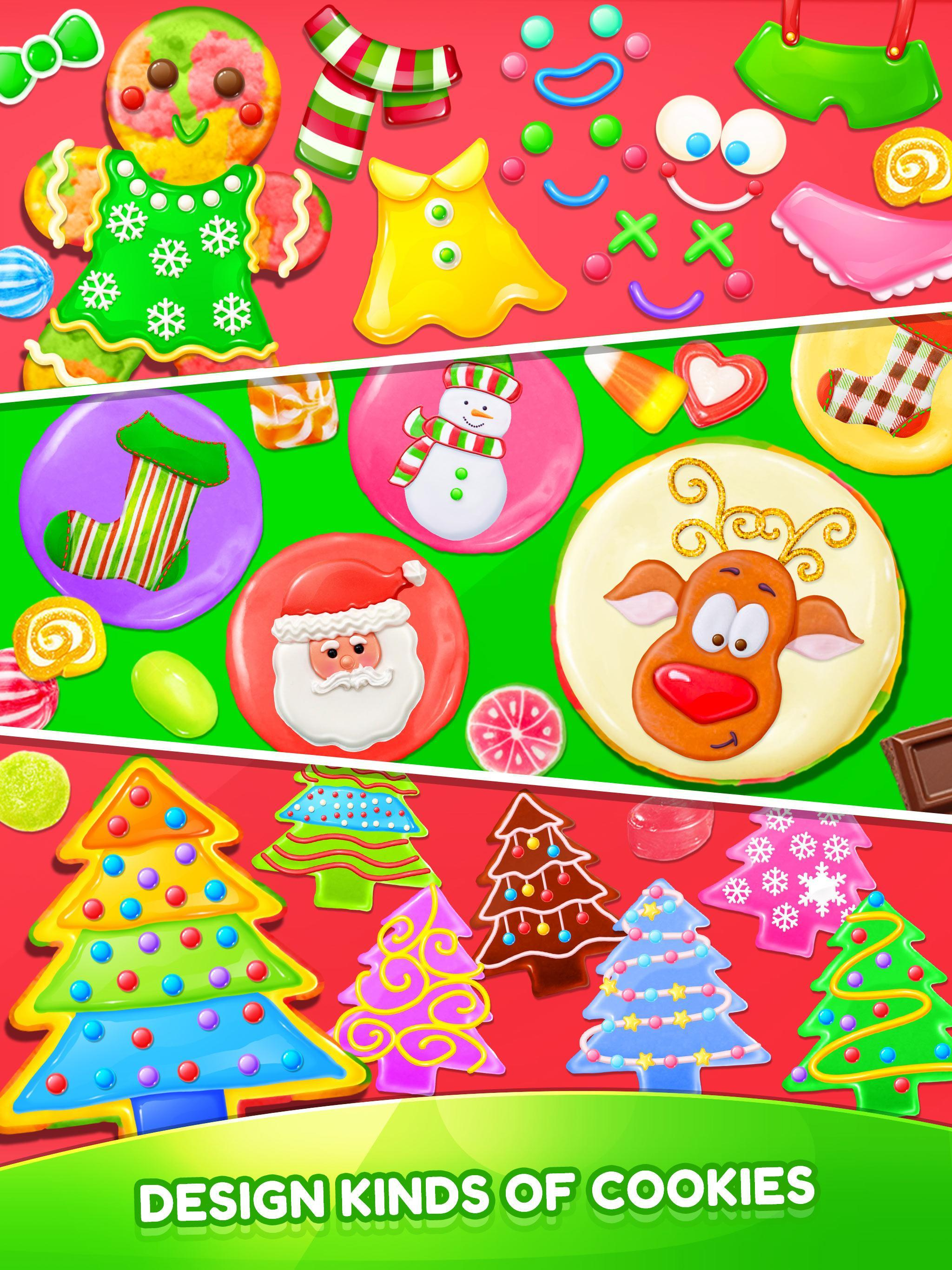Christmas Unicorn Cookies Gingerbread Maker Game For Android Apk