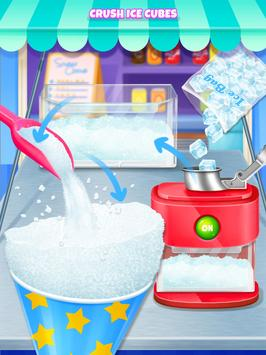 Summer Snow Cone - Icy Rainbow Food Maker poster