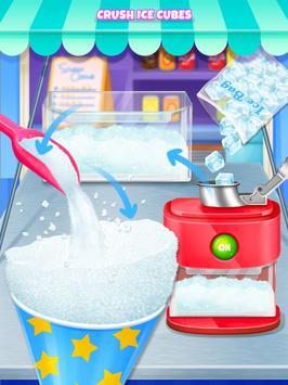 Summer Snow Cone - Icy Rainbow Food Maker screenshot 8