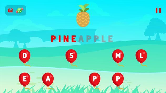 Kids Learning Words: Preschool screenshot 5