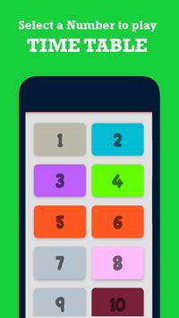 Multiplication Table Kids Math screenshot 1