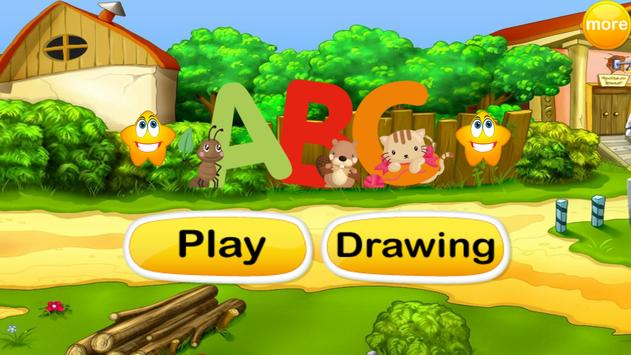 ABCD : Learning and Drawing poster