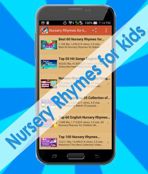 Nursery Rhymes for kids apk screenshot
