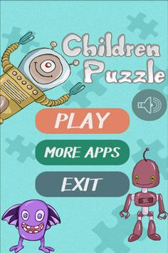Puzzle Games for Children poster