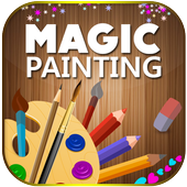 Magic Painting  Color, Draw and Artwork icon