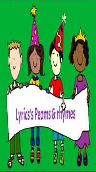 Poems and Rhymes for kids poster