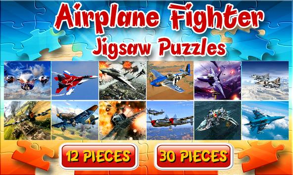 Airplane Fighter Jigsaw Puzzles Brain Games Kids poster