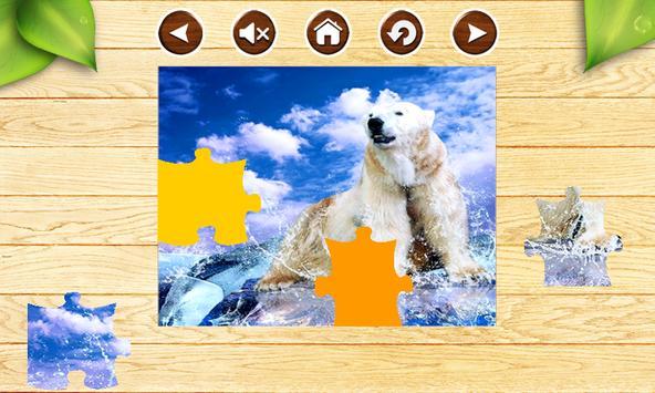 Bears Jigsaw Puzzles Game Kids apk screenshot