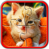 Cat Jigsaw Puzzles Cute Brain Games for Kids FREE