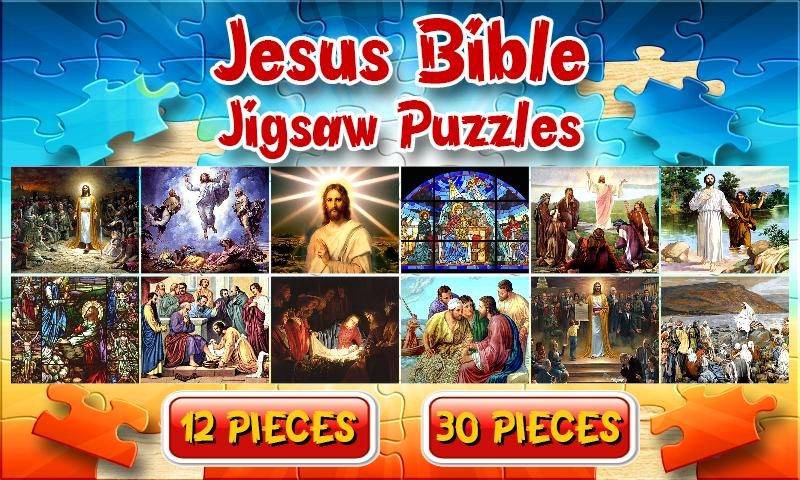 Jesus Bible Jigsaw Puzzle Brain Game for Kids for Android ...