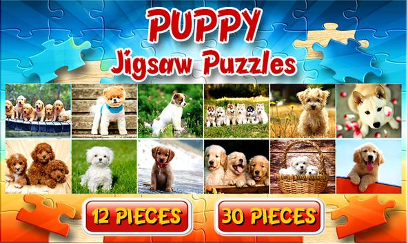Puppy Dog Jigsaw Puzzles Games poster