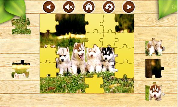 Puppy Dog Jigsaw Puzzles Games apk screenshot
