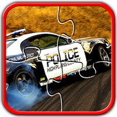 Police Car Jigsaw Puzzle Games icon